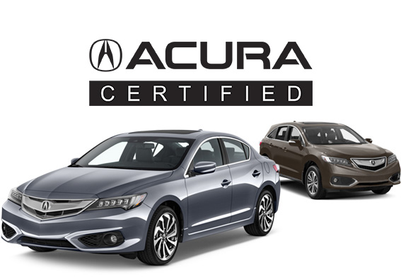Acura certified used vehicles