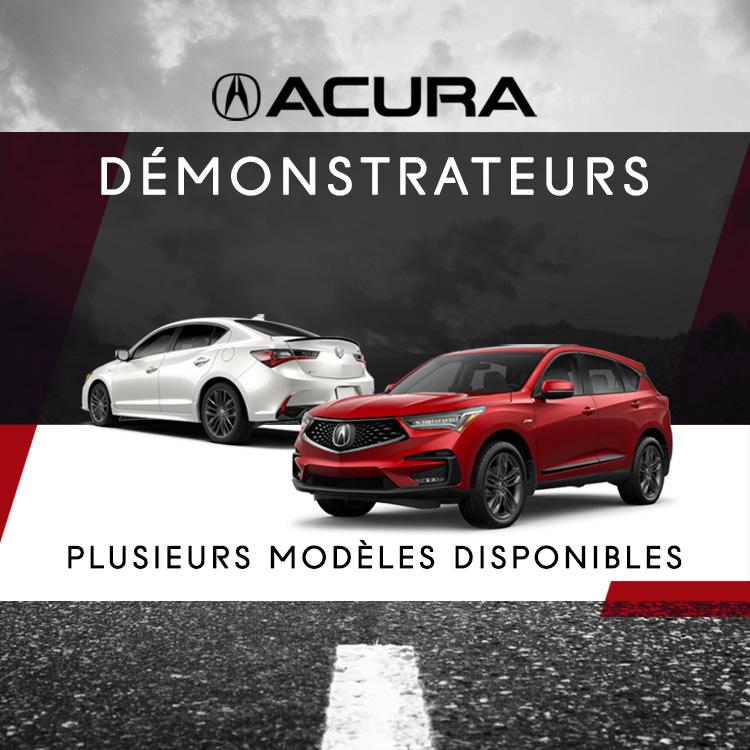 démonstrateurs Acura
